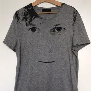Alexander McQueen Face Shirt